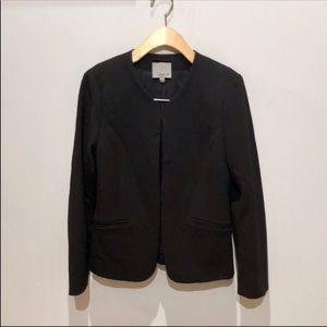 Aryn K Black Cropped Blazer